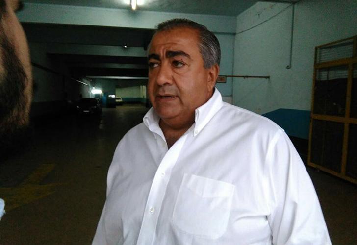 Héctor Daer, uno de los triunviros de la CGT, presente en el encuentro