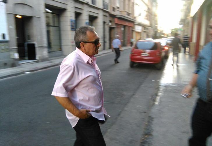 Juan Carlos Schmid, triunviro de la CGT y secretario general del Sindicato de Dragado y Balizamiento.