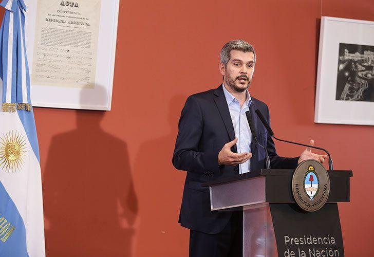El funcionario defendió la decisión de pedir un préstamo al Fondo Monetario Internacional. Foto: Noticias Argentinas.