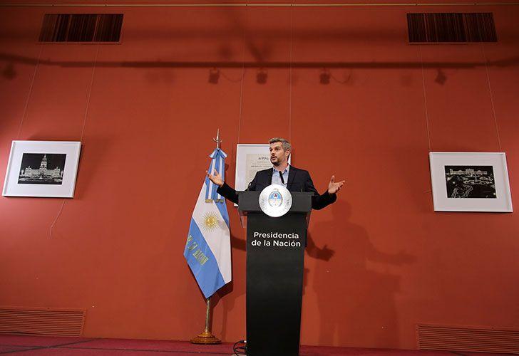 Marcos Peña. Foto: Noticias Argentinas.