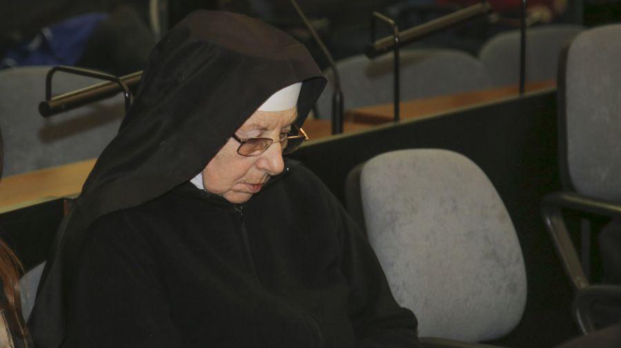 La monja Inés Aparicio, también imputada en la causa.