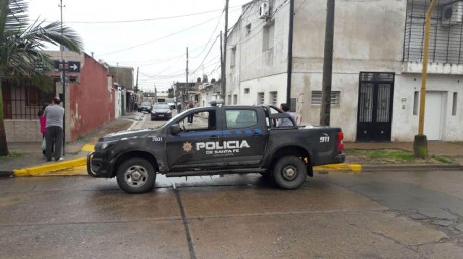 El incidente ocurrió en el barrio Guadalupe Oeste. Foto: Gentileza Diario UNO Santa Fe.