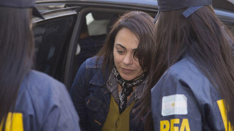 Carolina Pochetti, viuda de Daniel Muñoz