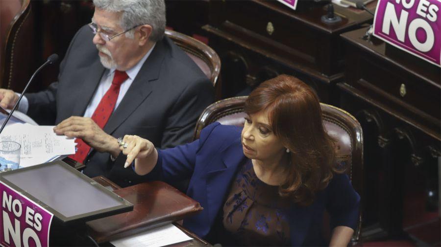Cristina Fernández de Kirchner. Foto: Noticias Argentinas.