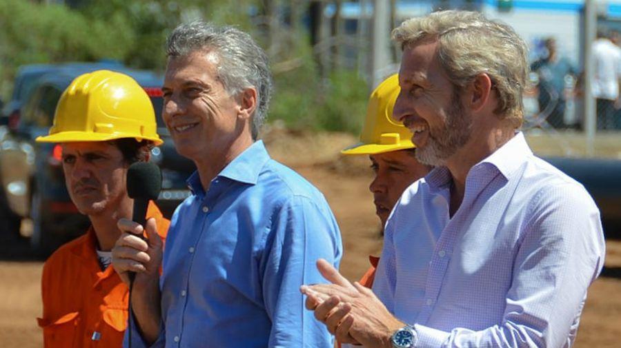 Mauricio Macri y Rogelio Frigerio