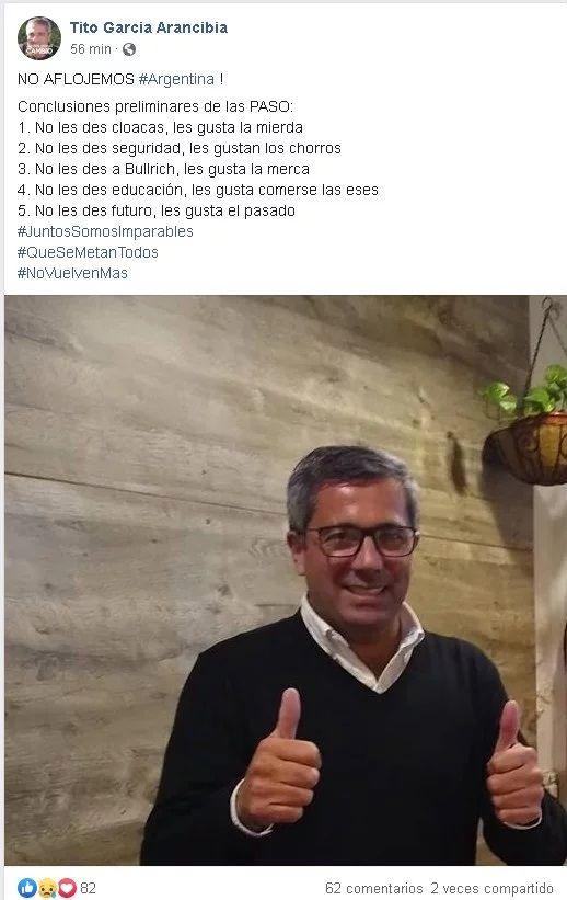 García Arancibia