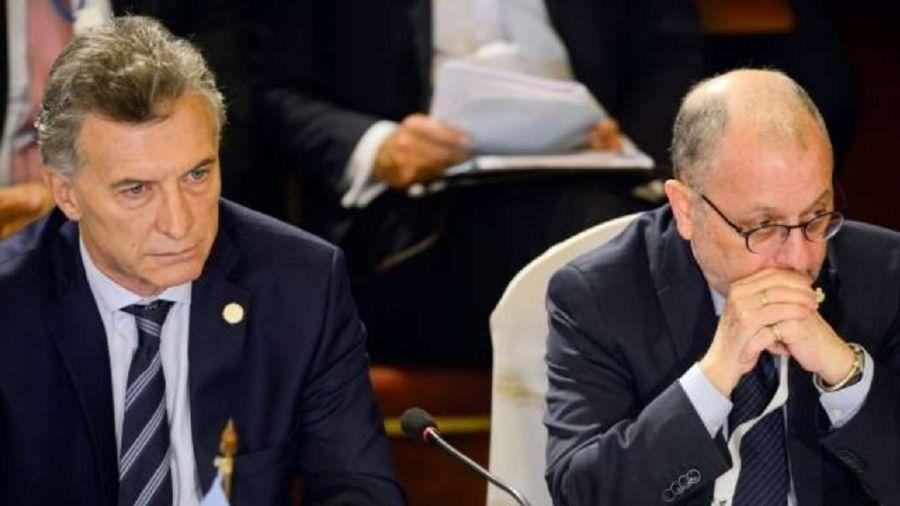 Mauricio Macri y Jorge Faurie