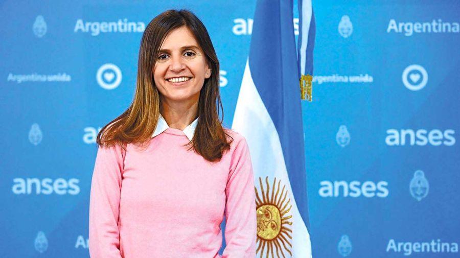 Fernanda Raverta, titular de ANSES.