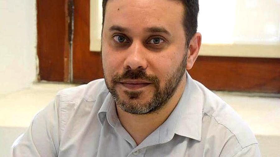 Enio García, jefe de asesores del Ministerio de Salud bonaerense.