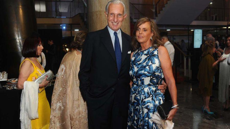 Jorge Neuss y su esposa Silvia.