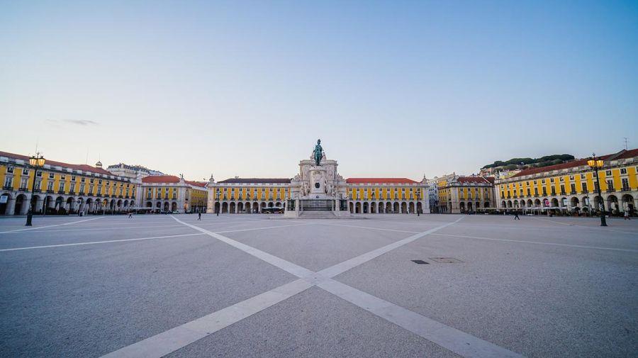 Plaza Mayor de Lisboa.