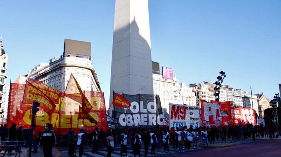Protestas de izquierda por Guernica