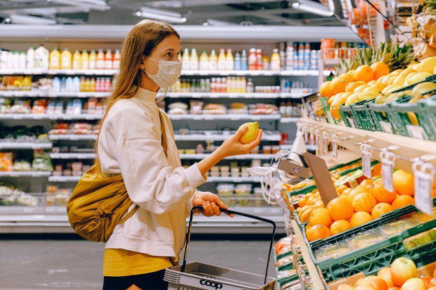 Los precios de los alimentos, entre los que tuvieron mayores subas en octubre.