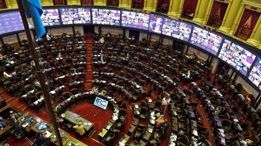 El debate en Diputados se extendió durante 18 horas.