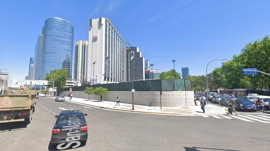 Intersección de la calle San Martín y la avenida Madero. Crédito: Google Maps