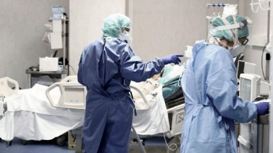 ocupación de camas en terapia intensiva