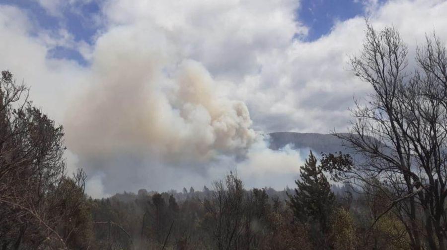 incendio en El Bolsón.