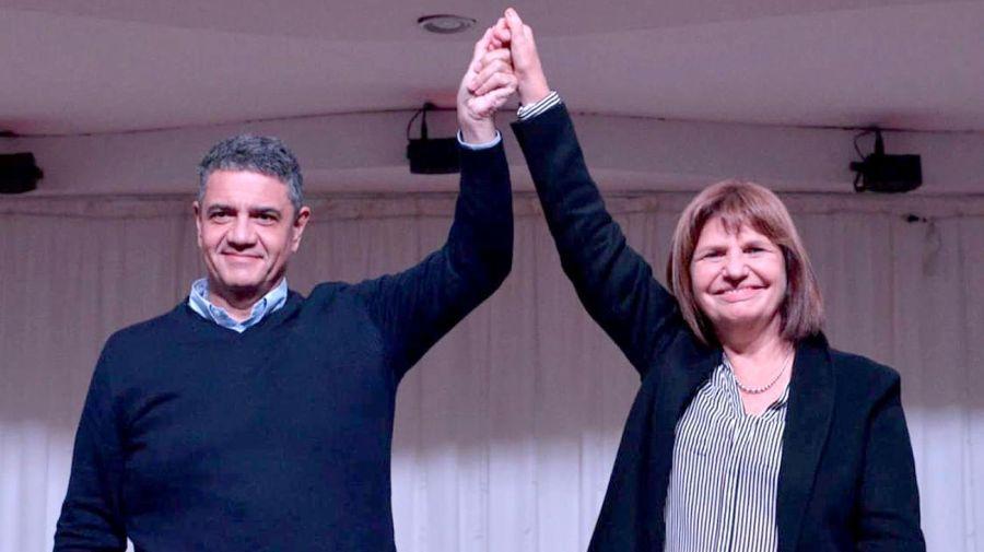 Jorge Macri recibió a Patricia Bullrich para la presentación de su libro en Vicente López