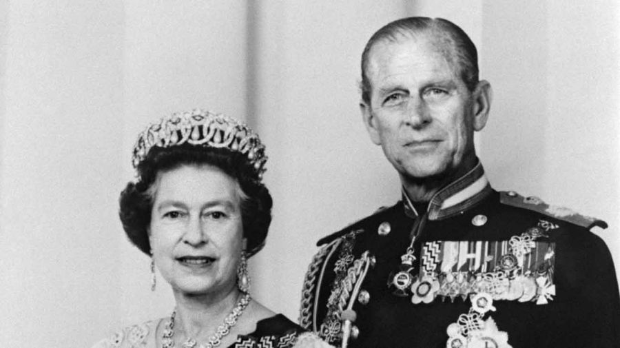 Isabel II y Felipe de Edimburgo. Foto: AFP