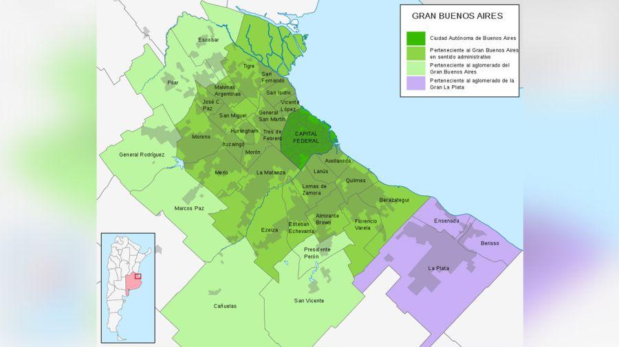 Gran Buenos Aires - Wikimedia Commons De Shadowxfox - Trabajo propio CC BY-SA 40