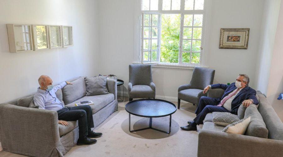 La reunión de Alberto Fernández y Horacio Rodríguez Larreta en Olivos no ayudó a descomprimir el conflicto.