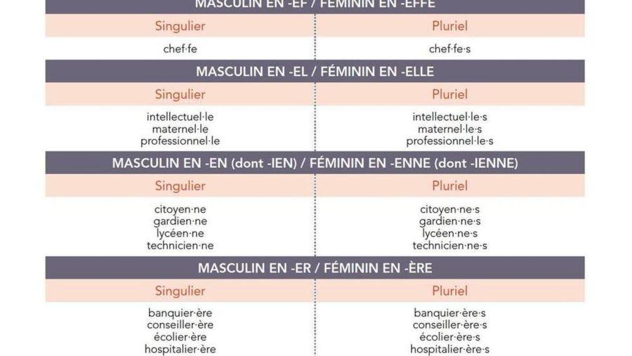 Lenguaje inclusivo en frances