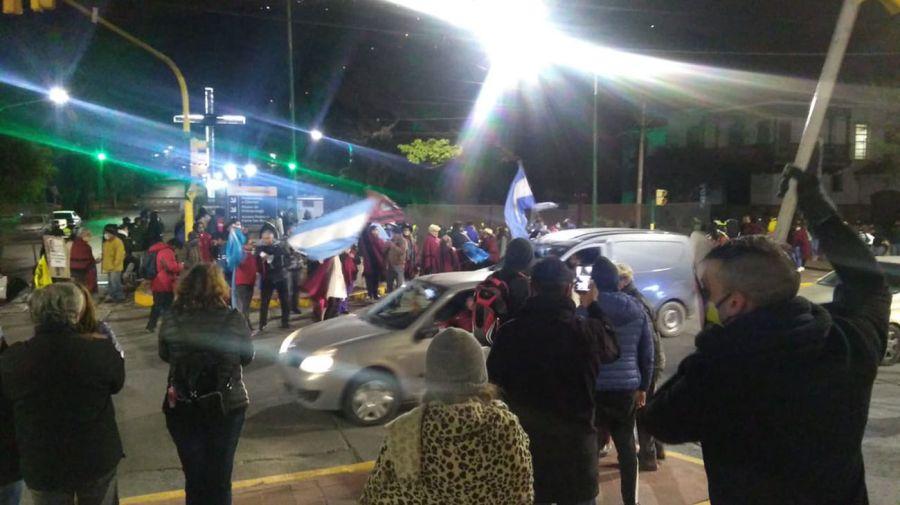 Protestas contra Alberto Fernández en Salta