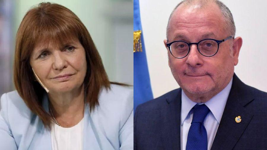 Patricia Bullrich y Jorge Faurie