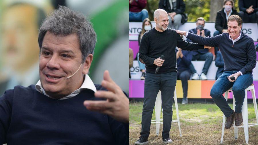 Facundo Manes, Horacio Rodríguez Larreta, Diego Santilli