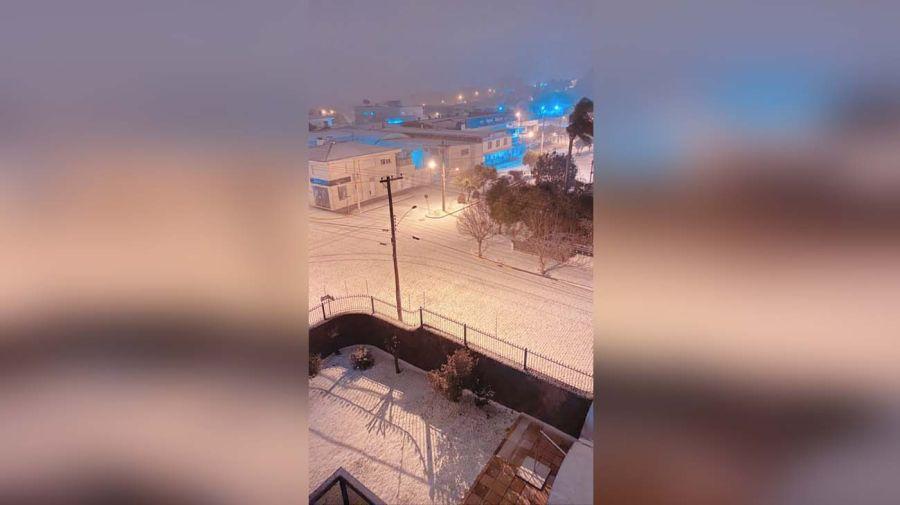 Brasil con nieve