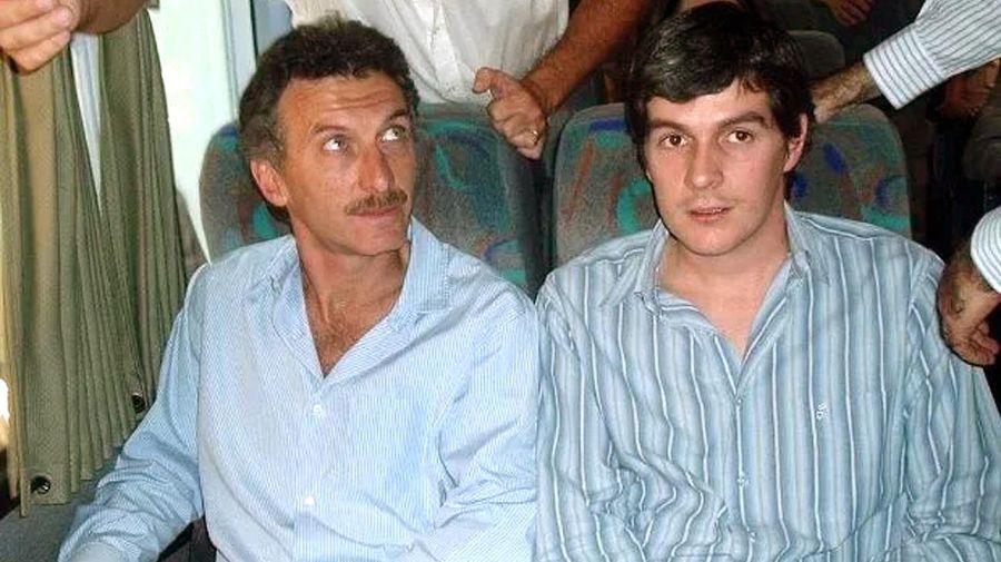 Mauricio Macri y Marcos Peña en los inicios del PRO