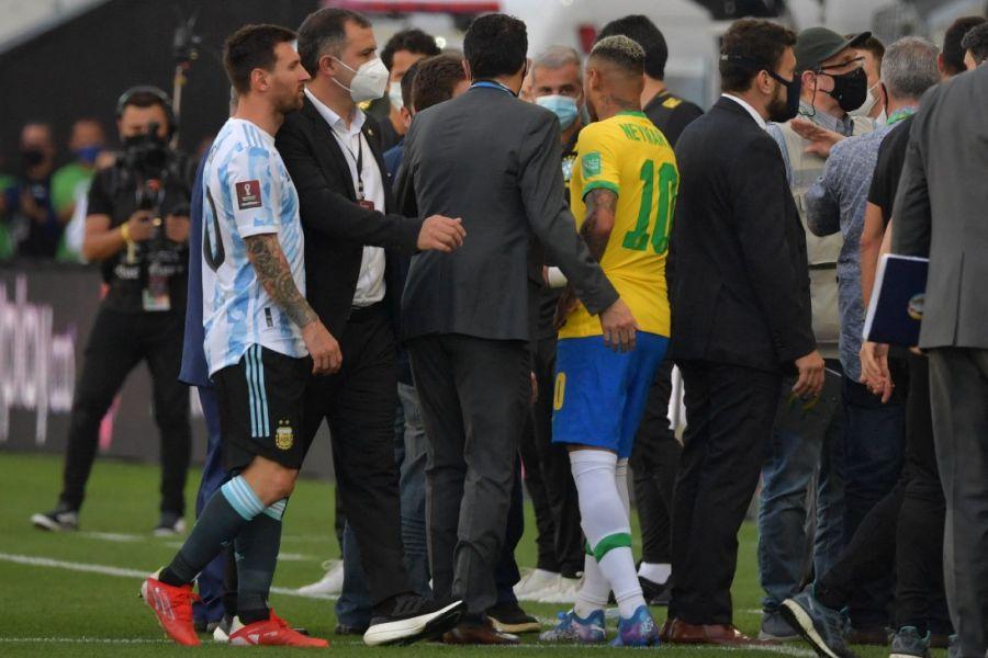 Escándalo en Argentina - Brasil