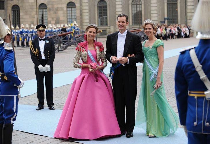 Cristina de Borbón está acusada de colaborar con su marido Iñaki Urdangarín.