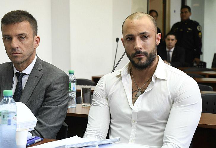 Leonardo Fariña, frente al juez.