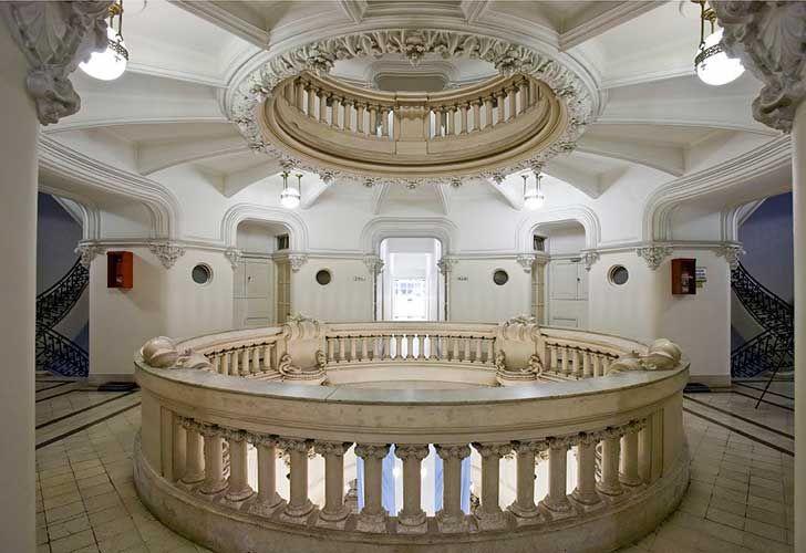 Vista interior del Palacio Barolo.