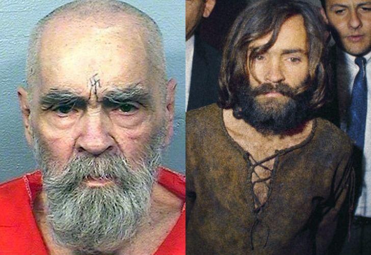 Charles Manson (/11/1934-19/11/2017). Uno de los criminales más peligrosos de Estados Unidos.