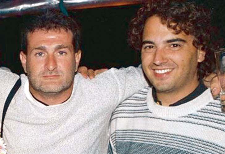 José Luis Cabezas junto a Gabriel Michi