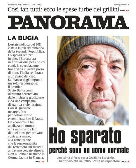 La tapa de la revista Panorama.