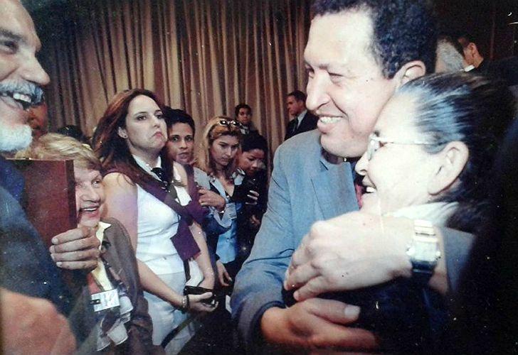 Rafaela Baroni y Chávez, en 1997