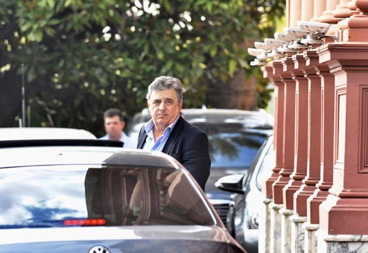 La Casa Rosada recibió a los jefes parlamentarios de Cambiemos, para tratar la suba de las tarifas.