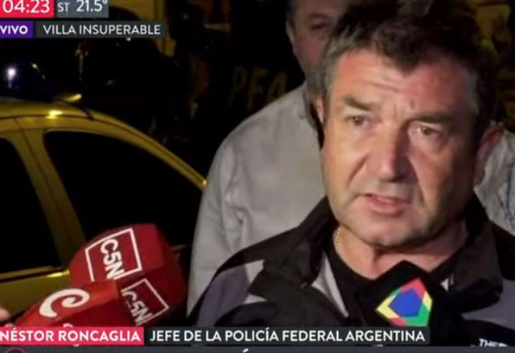 El jefe de la Federal, Néstor Roncaglia, dio detalles del tiroteo en General Paz.