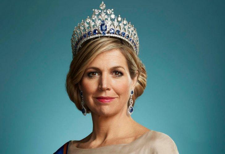 nuevos retratos de la reina Máxima de Holanda familia real