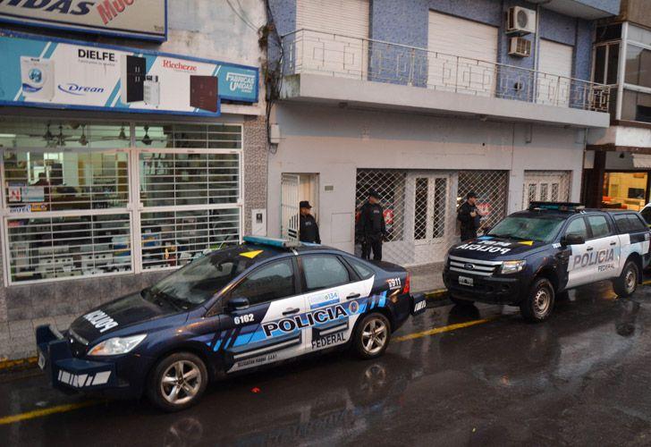 allanamiento en Paraná 05082018