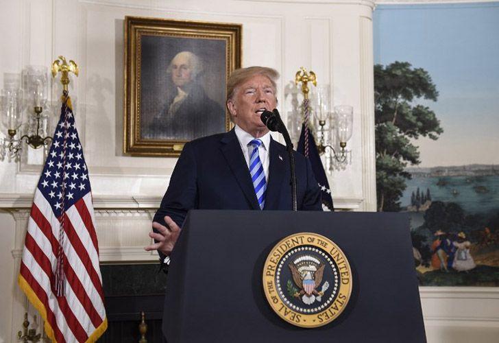 Trump anuncia una decisión sobre el tratado nuclear de EEUU con Irán