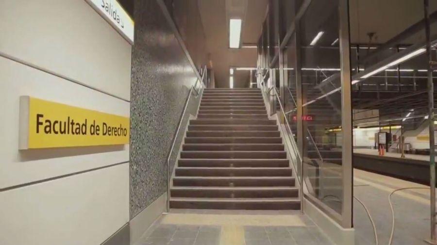 La nueva estación de la línea H.