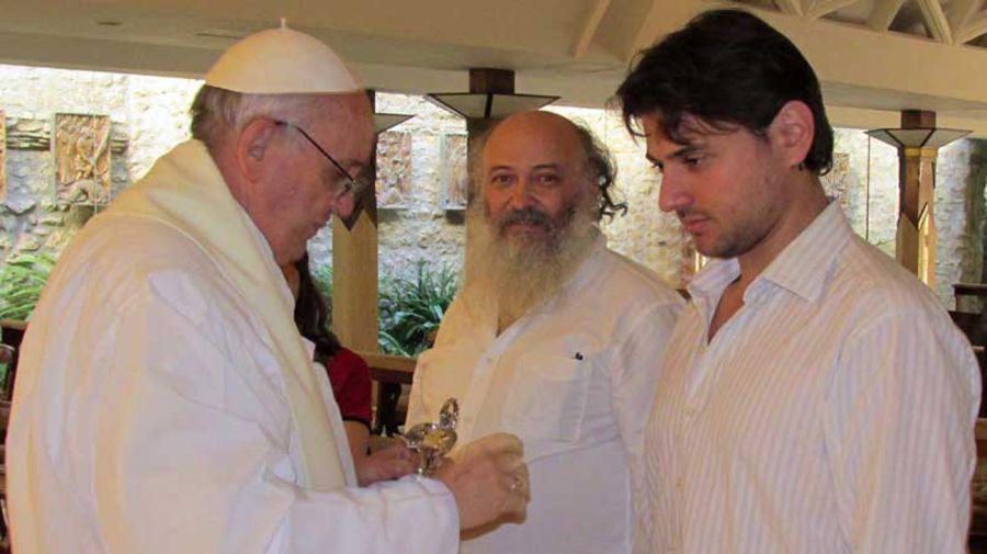 Juan Grabois y el Papa06012018