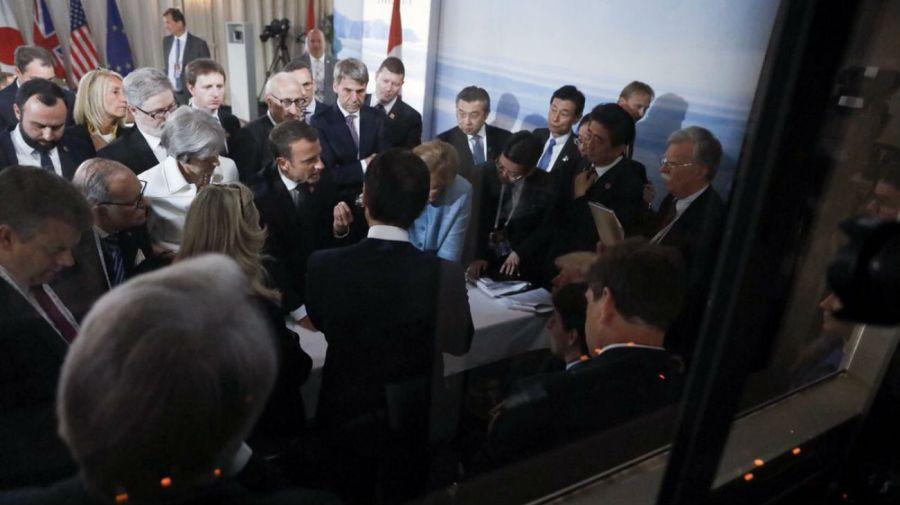 G7, 4 perspectivas.