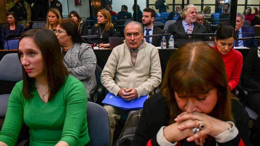 José López en la primera jornada del juicio oral.