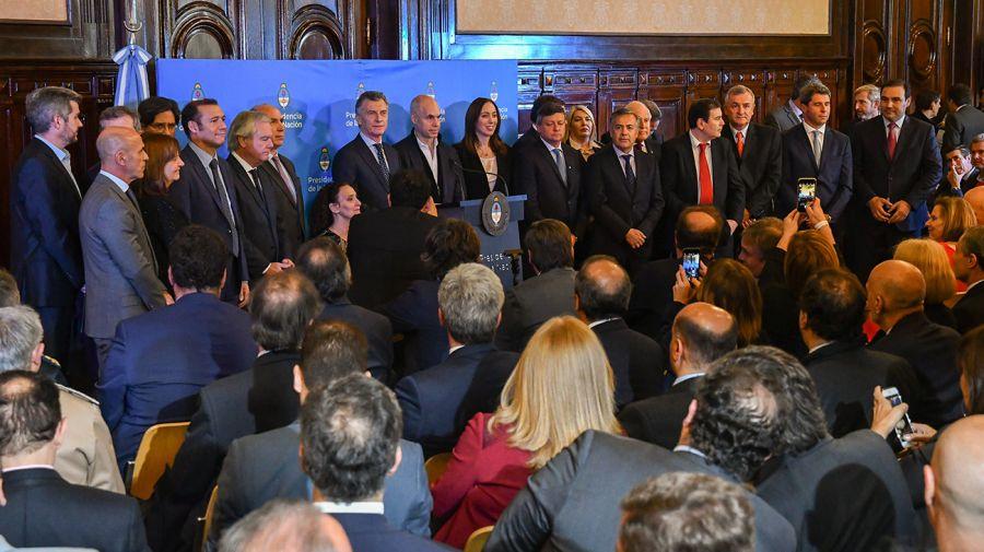 Macri inauguró una jornada