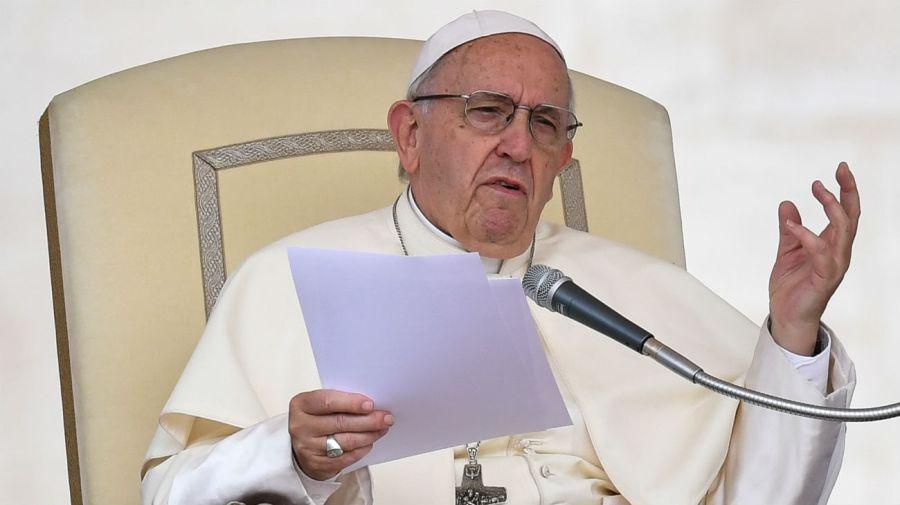 El Papa Francisco en una audiencia.